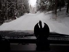 Lc01...video ..my old landcruiser winter