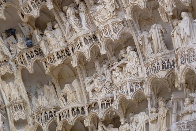 Auxerre : cathédrale Saint-Etienne