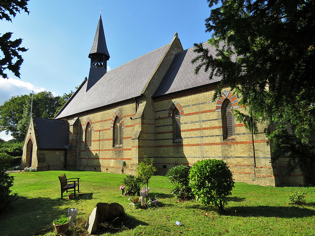 john the baptist, clay hill, enfield, london