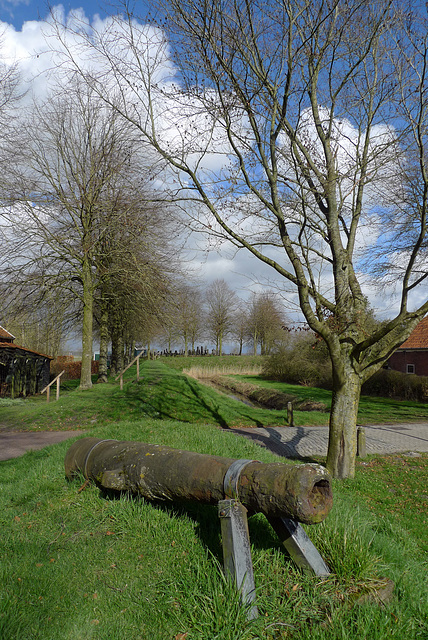Nederland - Oudeschans, Doodenbastion