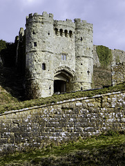 Carisbrooke Castle entrance tower
