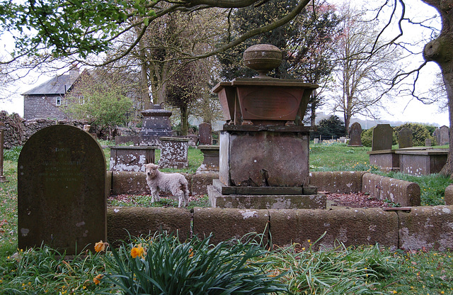 St Mary and St Michael's Churchyard, Great Urswick, Cumbria