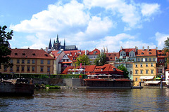 CZ - Prague - Boat trip on the Vltava