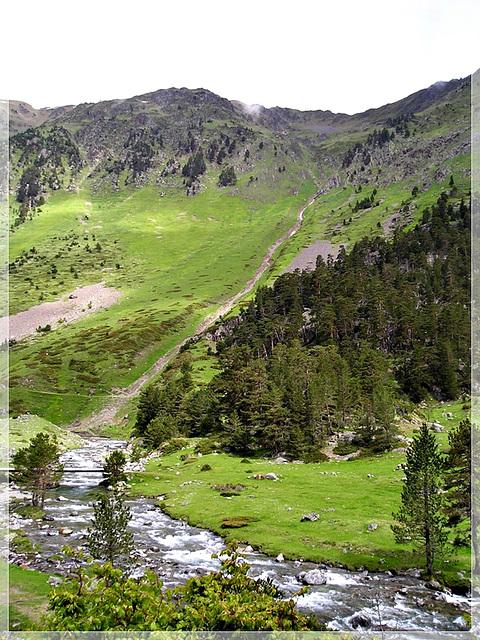 La vallée du Marcadau en Hautes Pyrénées (65)