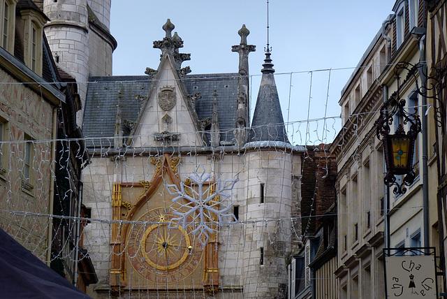 Auxerre : tour de l'Horloge