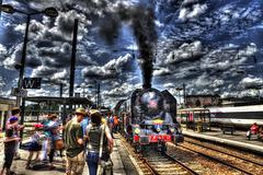 BESANCON: Passage de la 241P17 en gare Viotte 17