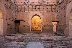 El Badi palace - red ruins