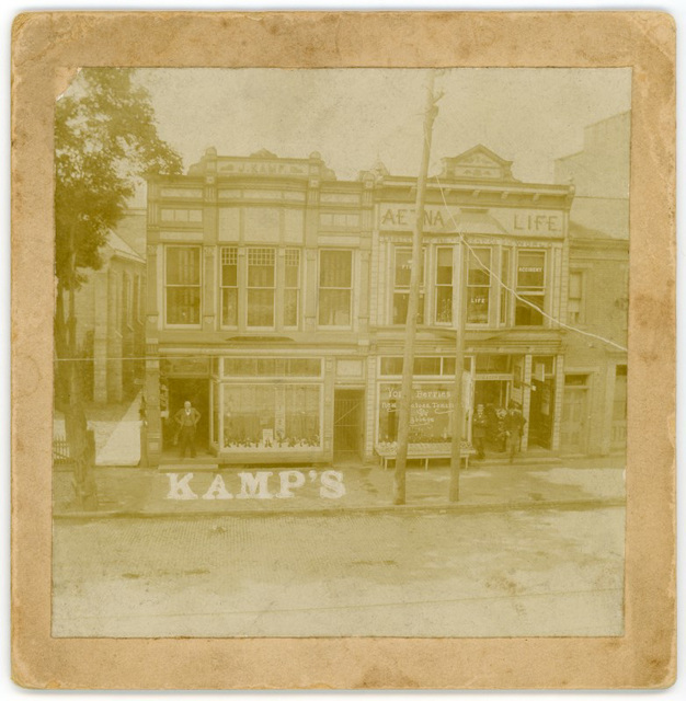 Jacob Kamp's Shoe Store, Lock Haven, Pa., ca. 1890s
