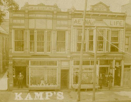 Jacob Kamp's Shoe Store, Lock Haven, Pa., ca. 1890s (Cropped)