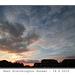 East Blatchington sunset - 18.6.2015