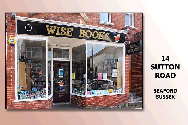Wise Books - 14 Sutton Road Seaford - 18.6.2015