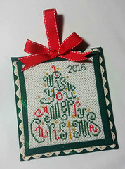 Christmas Wishes Ornament 12/10/2016