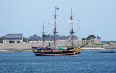 l'étoile du Roy Saint Malo rade de LORIENT,