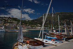 the old sailing boats