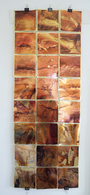 internal landscapes - gold