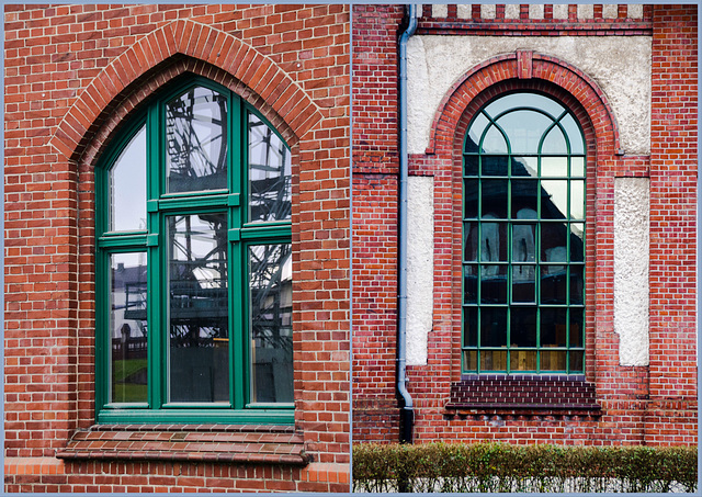 Dortmund - Zeche Zollern - 2 Fenster