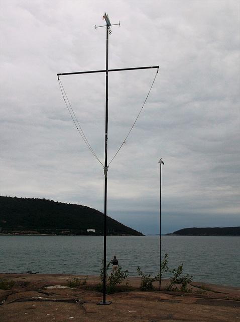 Voilier rocheux / Rocky sailing boat