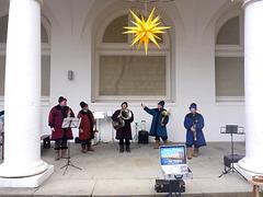 Die Neva Brass aus Sankt Petersburg im Stallhof