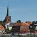 Kirche und Pagodenspeicher