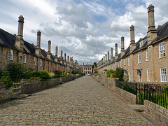 Wells Cathedral Choristers Cottages.