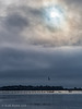 Moody sky over Bosham Harbour