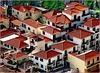 Funchal : I tetti di Câmara De Lobos : vecchi e nuovi