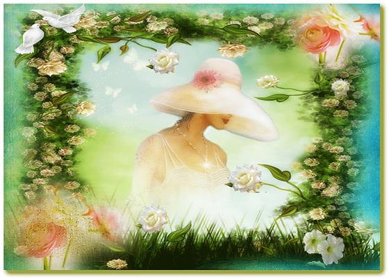 Une très belle journée, ouvrez vos coeurs au monde, l'amour pur
