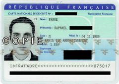 Französischer Ausweis