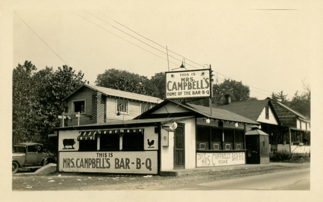 Mrs. Campbell's Barbecue, Tyrone, Pa., ca. 1930