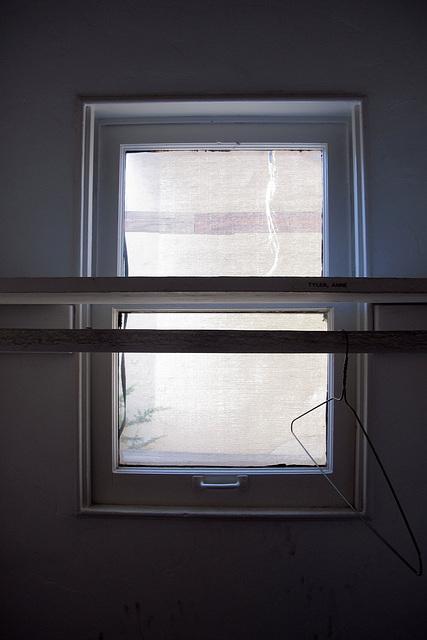Gladys Pearl Monroe Baker's Escape Window (1784)