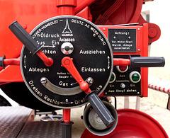 Feuerwehrleiterbedienpanel