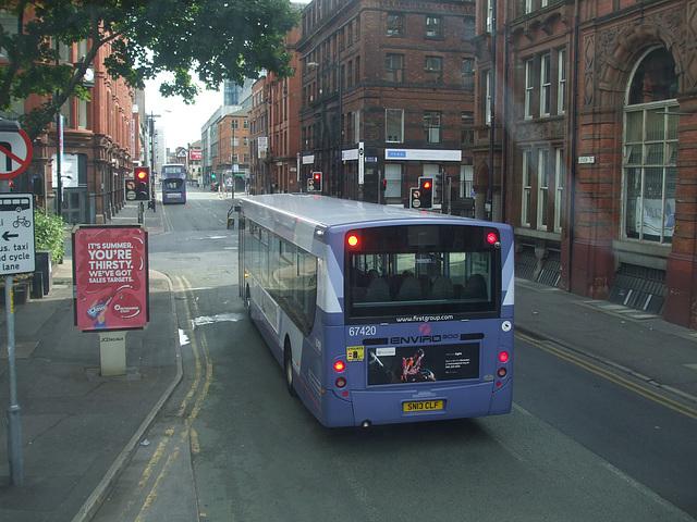 DSCF0615 First Manchester SN13 CLF