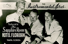 The Instrumental Aires at the Sapphire Room, Hotel Floridan, Tampa, Florida