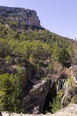 Vista general cascada Calomarde