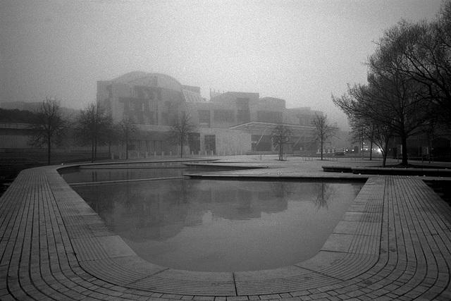 Foggy Edinburgh (2)