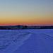 Winterlandschaft zur blauen Stunde - Winter Landscape at the Blue Hour