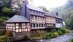 DE - Monschau - Houses on the Rur