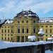 Die Würzburger Residenz an einem Wintermorgen -  The Würzburg Residenz on a Winter Morning