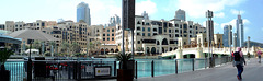 Wohnungen, Appartements, Geschäfte und der Souk al Bahar. ©UdoSm