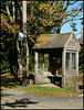 Hampton Poyle bus shelter