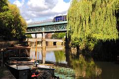 Crossing the River Avon in Bath