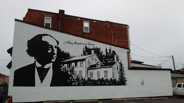 Allan Macphersen's wall