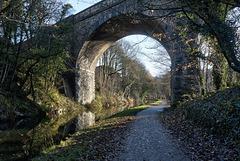 Canal walk at Sowerby Bridge
