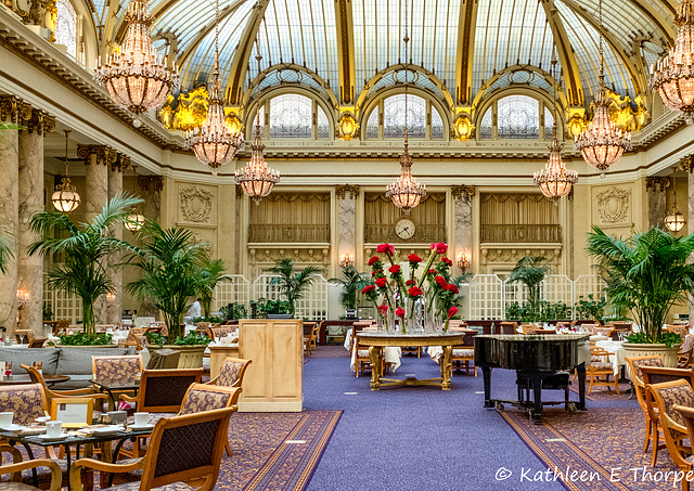 Palace Hotel, Garden Terrace, San Francisco 001