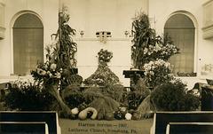 Harvest Service, Lutheran Church, Strasburg, Pa., 1907
