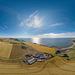 Kinghornie Farm and Inverbervie - Aerial Photosphere 02-08-2017