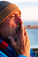 H.A.N.W.E. - with a Midnight Sun Cigarette