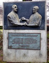 Berlin - Commemorating the Traité de l'Élysée