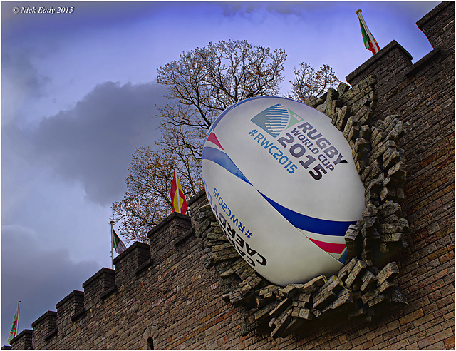 The Castle and the Rugby Ball