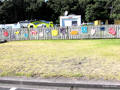 Decorated Fence.